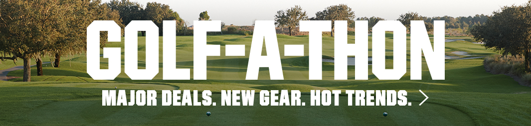 Golf-a-thon! Major Deals. New Gear. Hot trends. Click to see more info on the DICK's Sporting Goods main site.