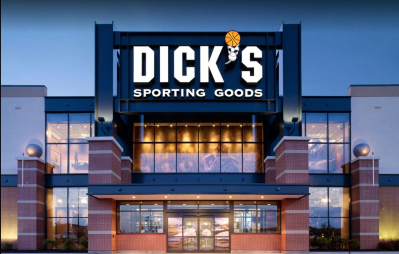Store front of DICK's Sporting Goods store in Council Bluffs, IA